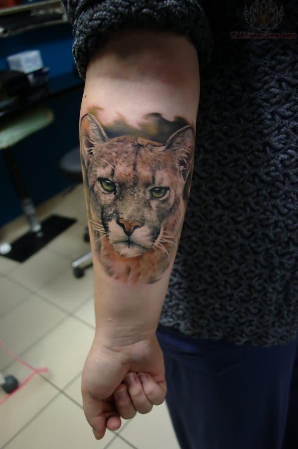 Puma Tattoo Images Amp Designs