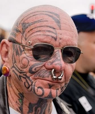 Celtic Face Tattoo & Piercing