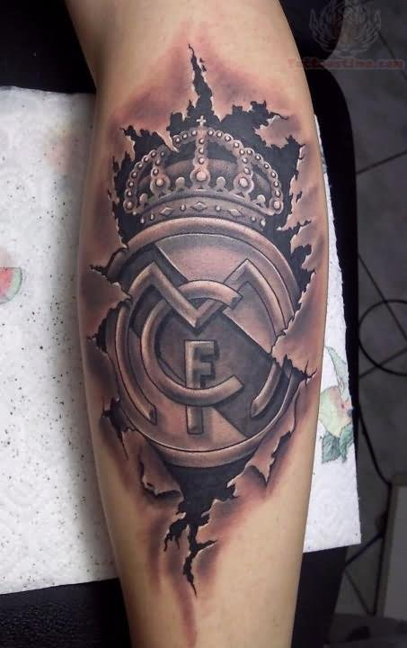 Real Madrid Tattoo Images &amp Designs