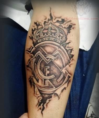 real madrid tattoo images designs