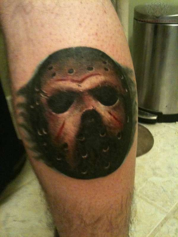 Funny Boy And Girl Baby Jason Tattoo Images &a...