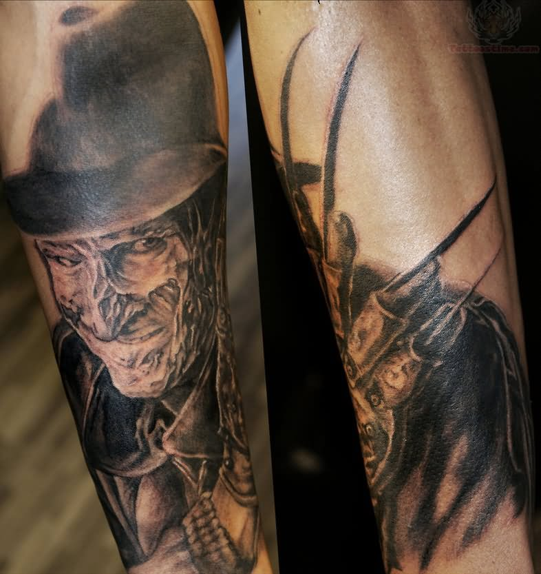 Freddy Krueger Tattoo Images & Designs