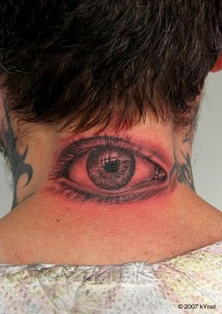 Red Eye Tattoo