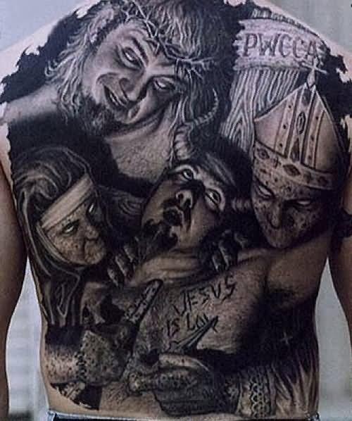 Evil Child Tattoo