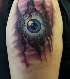 Evil tattoo images designs for Tattoo of evil eye