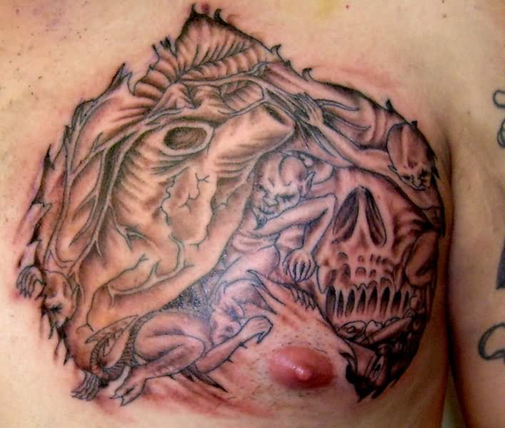 Evil Tattoo Images & Designs
