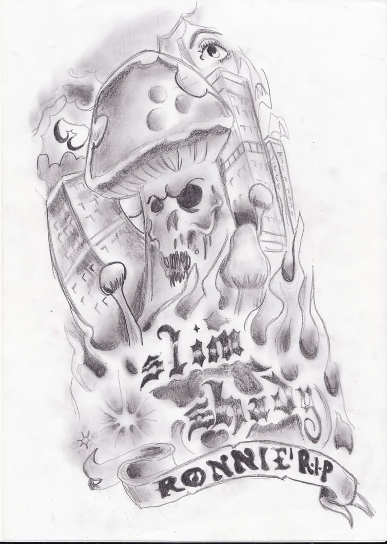 Evil Tattoo Drawings Images amp Designs