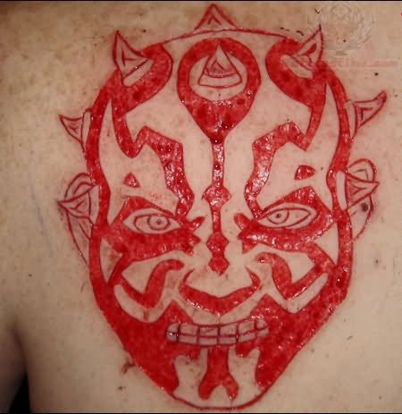 Scarification Tattoo Images & Designs