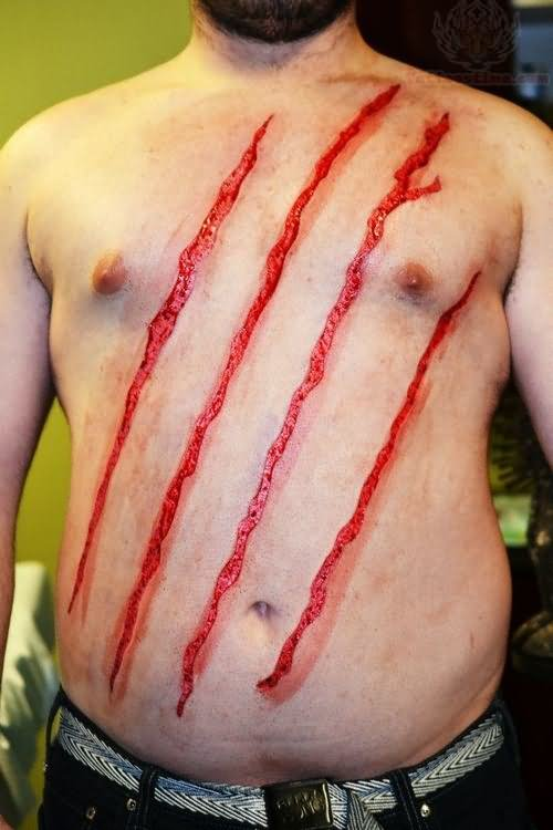 Scarification Tattoo Images Amp Designs