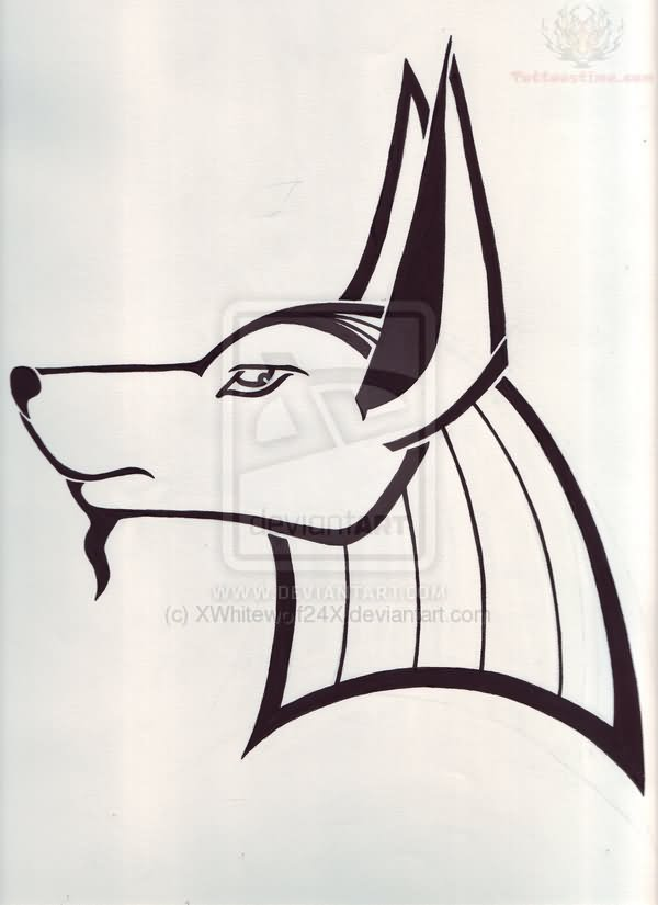 anubis head tattoo meaning