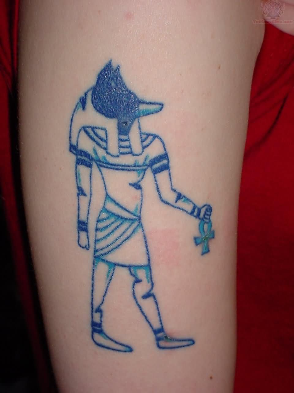 Тату египетских богов и их значение