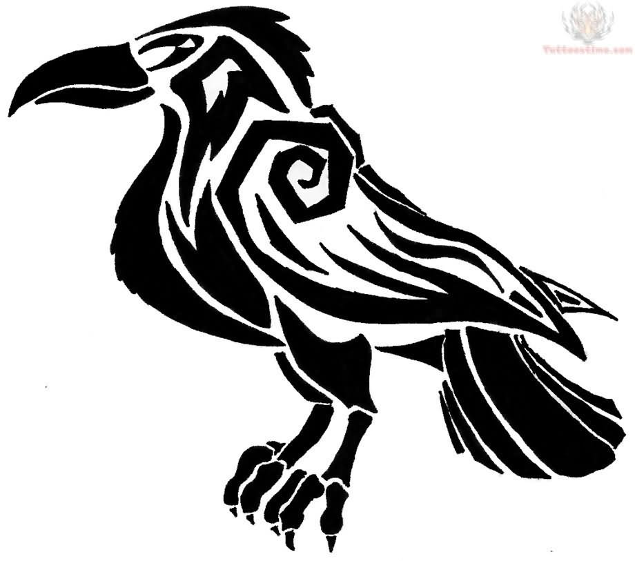Celtic Raven Tattoo Designs