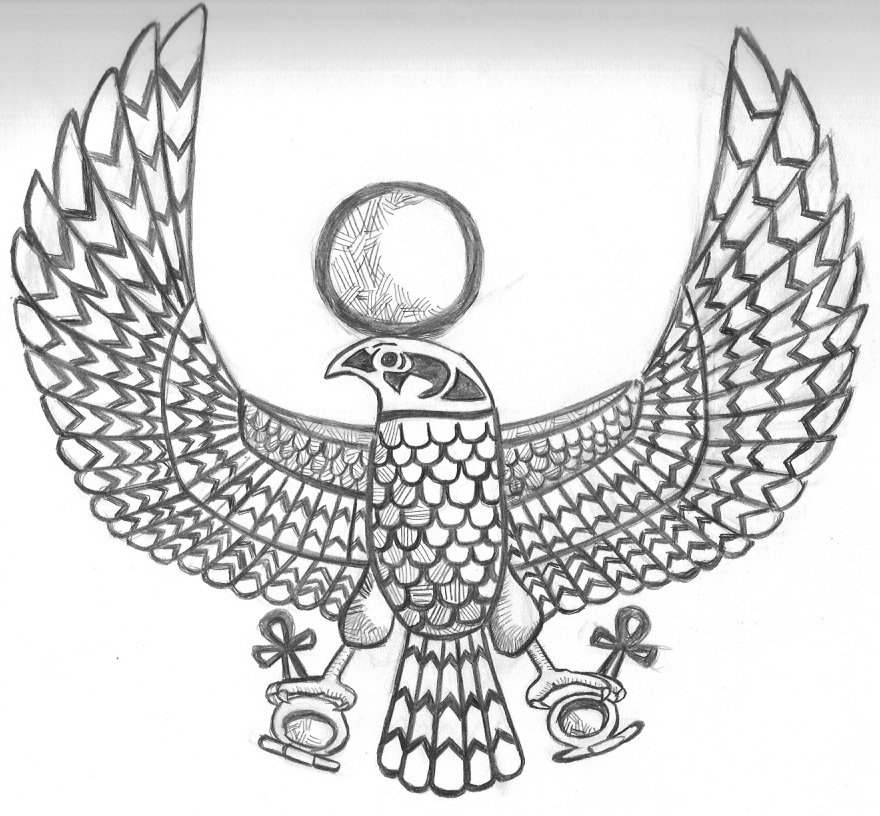hawk tattoo images amp designs