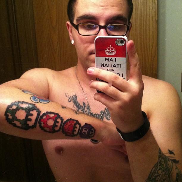 Как бить татуировку