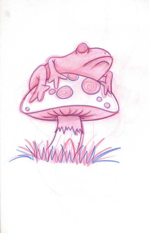 mushroom tattoos page 87. Black Bedroom Furniture Sets. Home Design Ideas