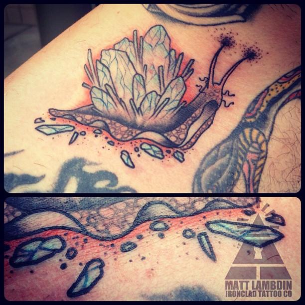 Pin Fairy Riding Snail Tattoo on Pinterest