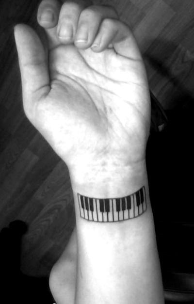 Piano Tattoo Images Amp Designs