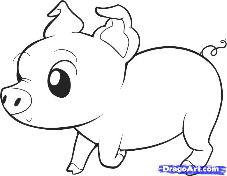 Gallery For gt Pig Face Outline