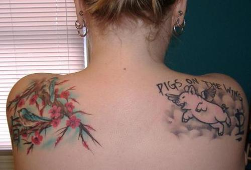 On pig tattoos page 3 for Pig and rooster tattoo meaning