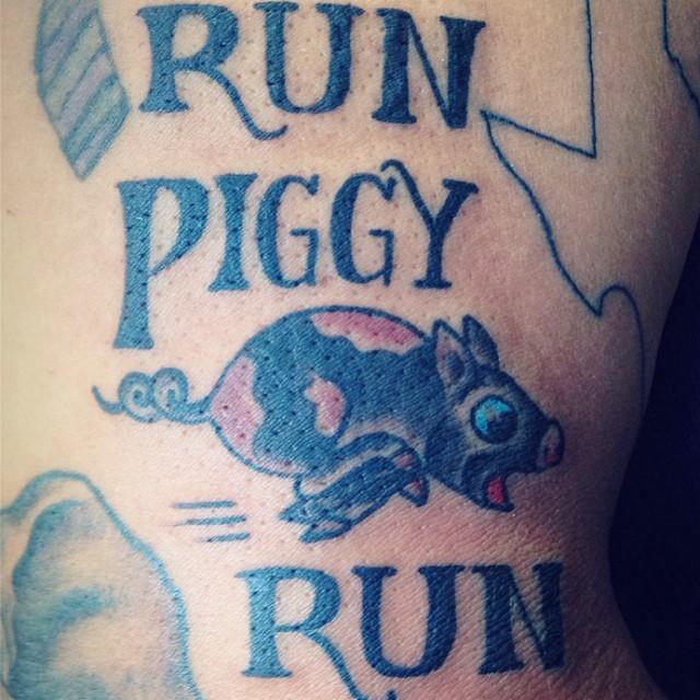 Top swim bike run tattoo images for pinterest tattoos