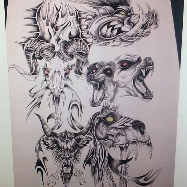 Pig Tattoo Images & Designs