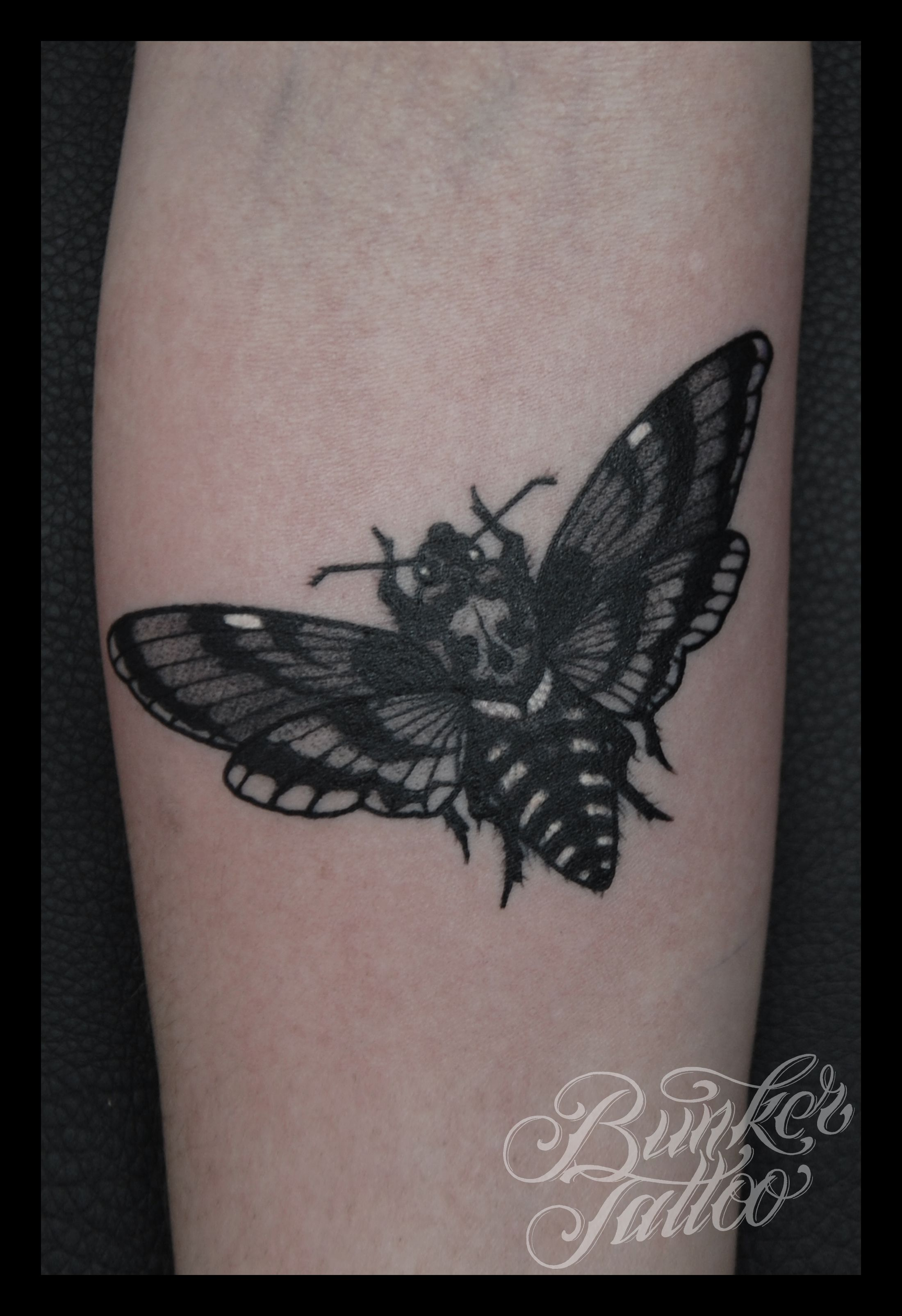 Moth Tattoo Images &am...