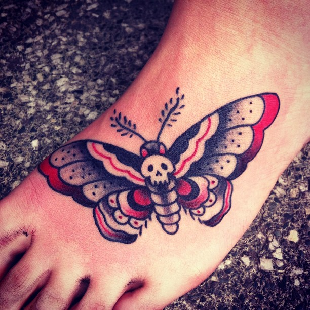 Left Foot Tattoos 89