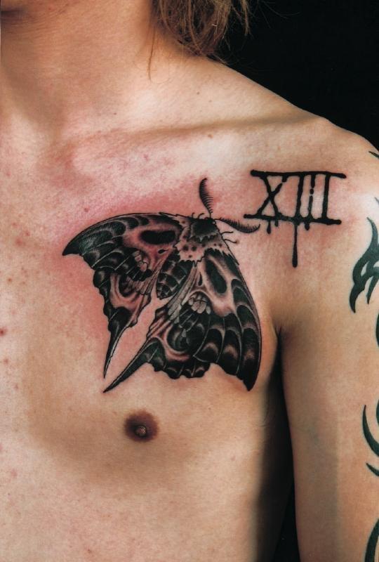 Roman Numeral Tattoos On Spine