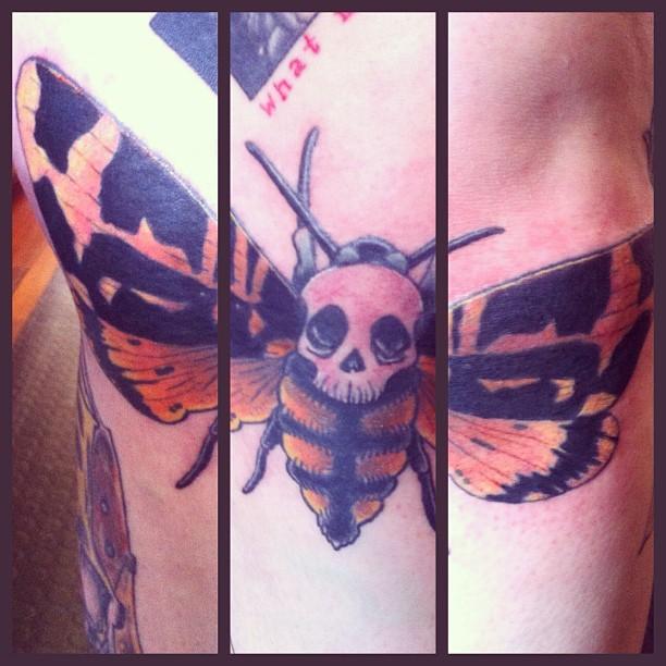 moth tattoo images designs. Black Bedroom Furniture Sets. Home Design Ideas