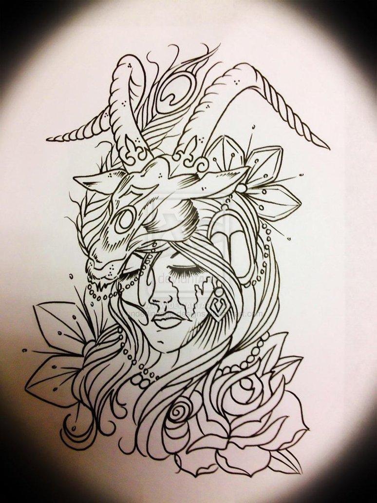 Capricorn Tattoo Design: 15 Best Capricorn Tattoo Designs For Men And Women