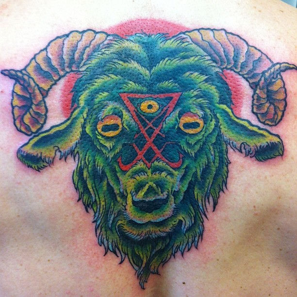 Celtic Greenman Armband: Goat Tattoo Images & Designs