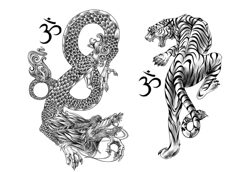 Gallery For gt Chinese Tiger Tattoo Designs