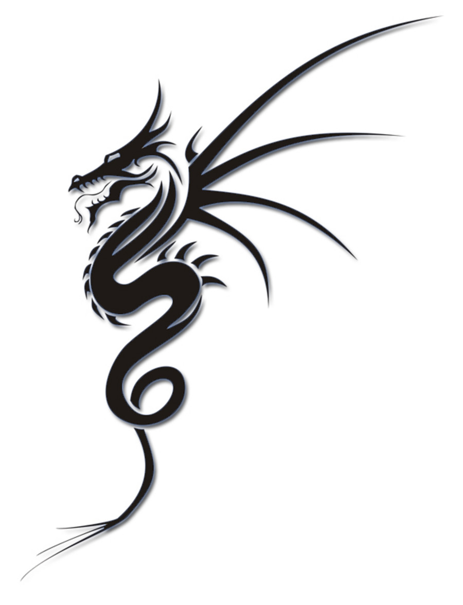 simple dragon tattoo interior home design. Black Bedroom Furniture Sets. Home Design Ideas