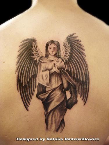Angel tattoos designs ideas page 4 for Praying angel tattoos