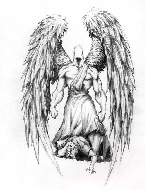 Guardian Angel Tattoo Sketches Angel Tattoos : Page 2...