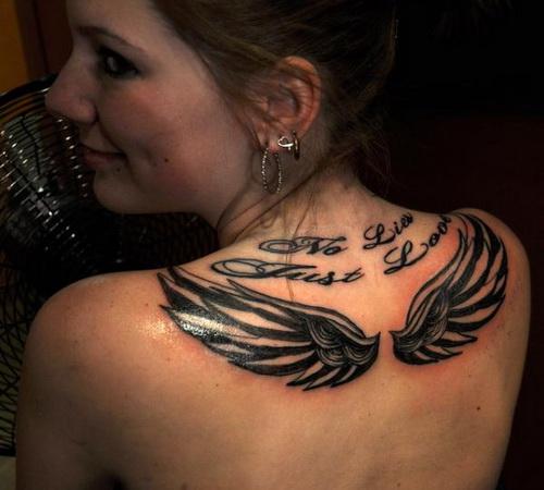 Angel Wings Tattoo Women