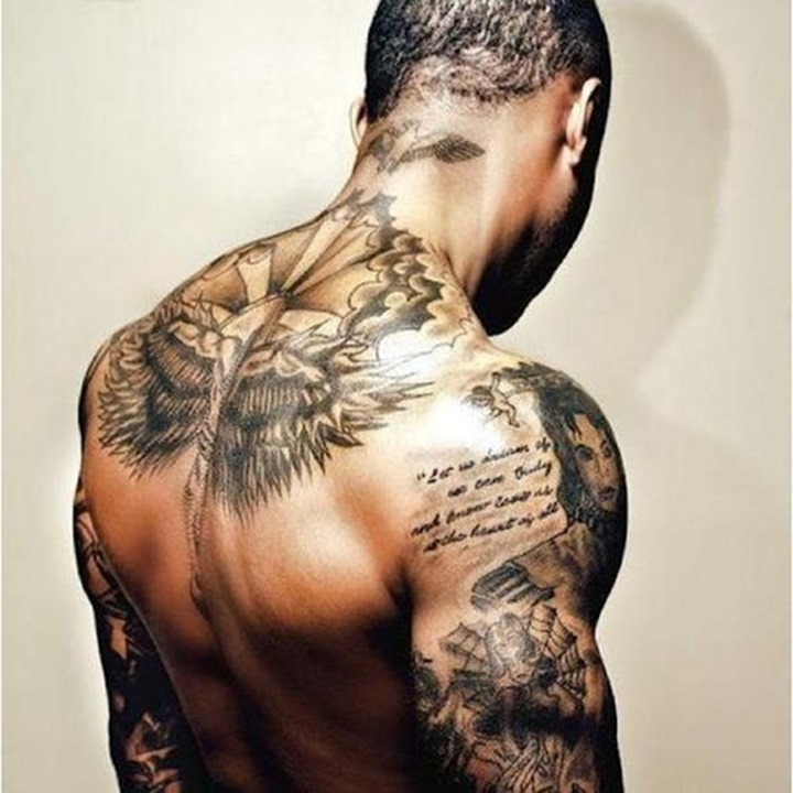 Back Tattoo Girls Tumblr Tumblr Upper Back Tattoo Male