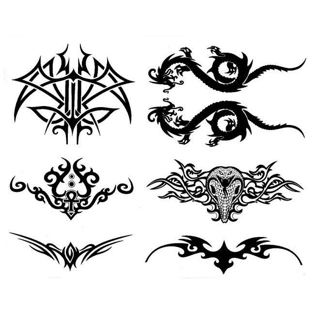 tribal lower back tattoos designs. Black Bedroom Furniture Sets. Home Design Ideas