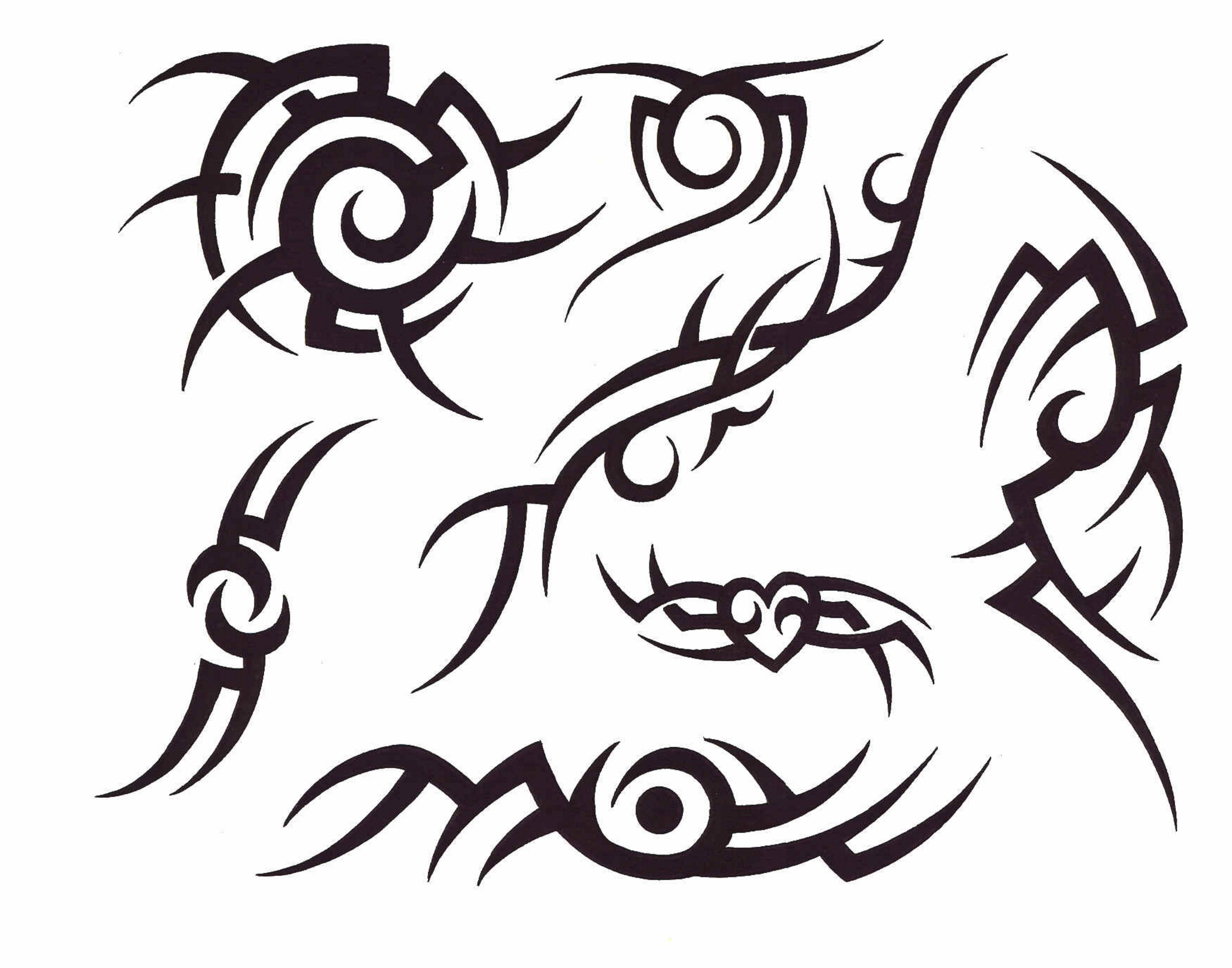 Awesome Tribal Tattoo: Awesome Black Tribal Tattoo Design