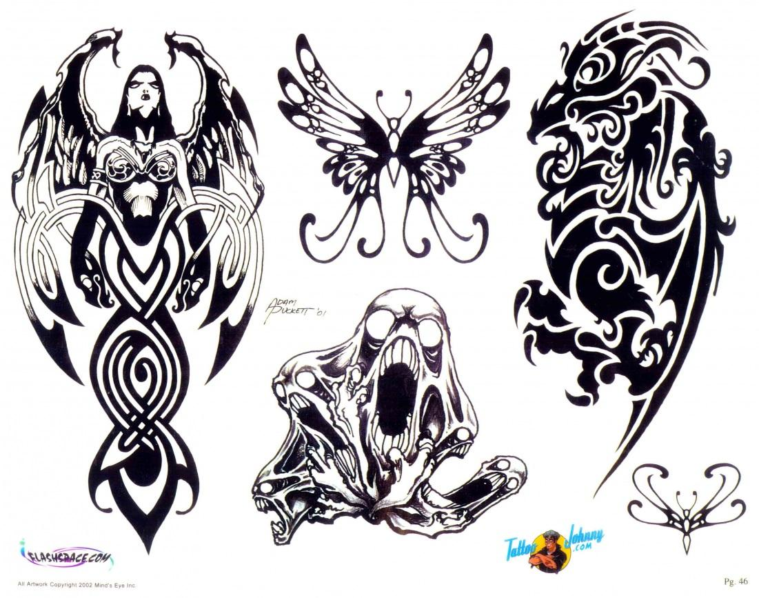 Awesome Tribal Tattoos To Draw | www.pixshark.com - Images ...