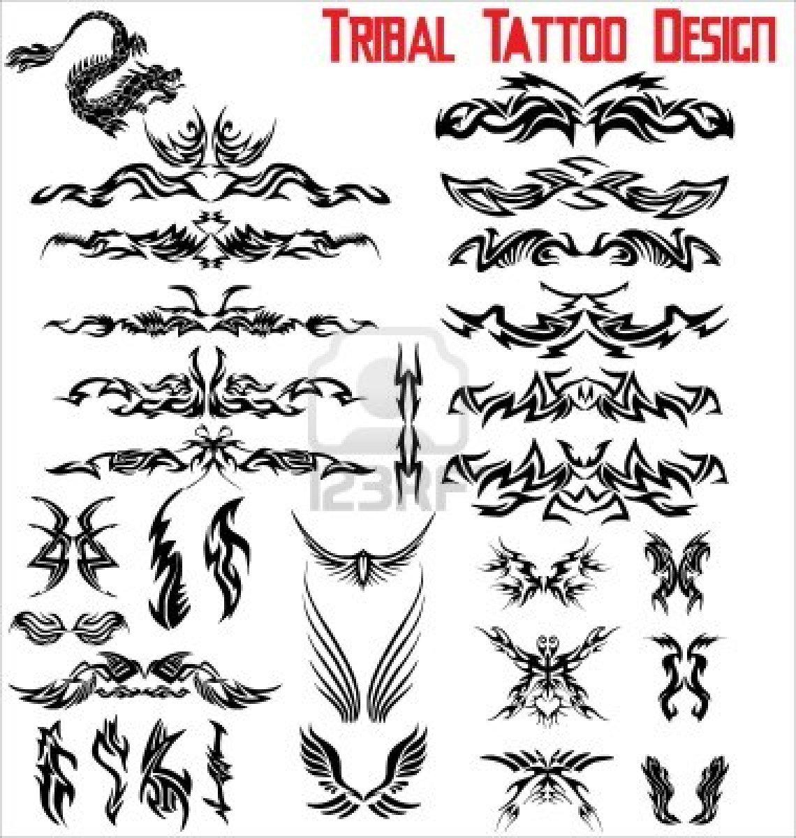 Tribal-Tattoos black-ink-tribal-tattoo-designs
