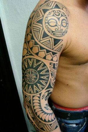 Tatuaje Sol Maori Free Tatuajes De Soles Y Lunas With Tatuaje Sol