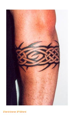Tribal Armband Tattoos For Men