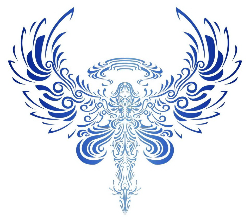 Pics Photos Tribal Angel Wings Image