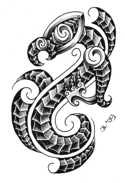 588d8c73c Tribal Bold Tattoo Design