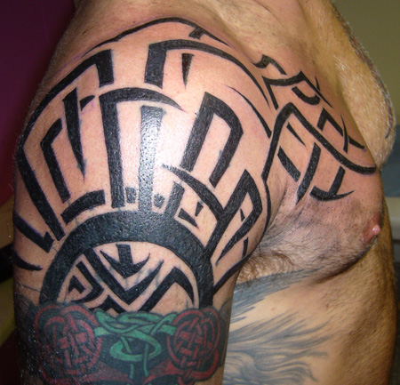 tribal tattoos for shoulder