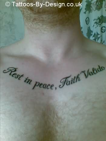 Faith Valido Tattoo