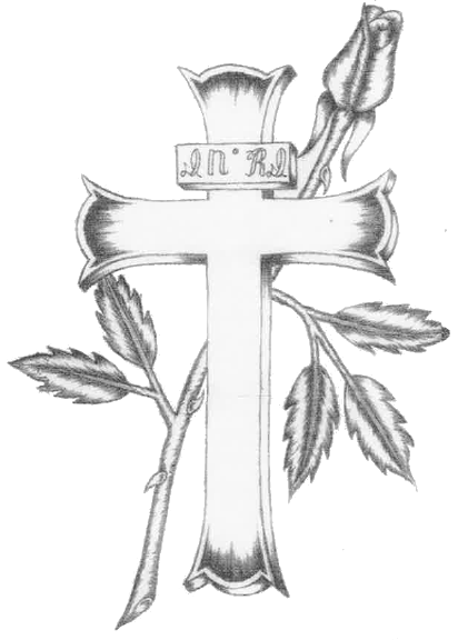 Gallery For gt Drawings Of Crosses With Flames