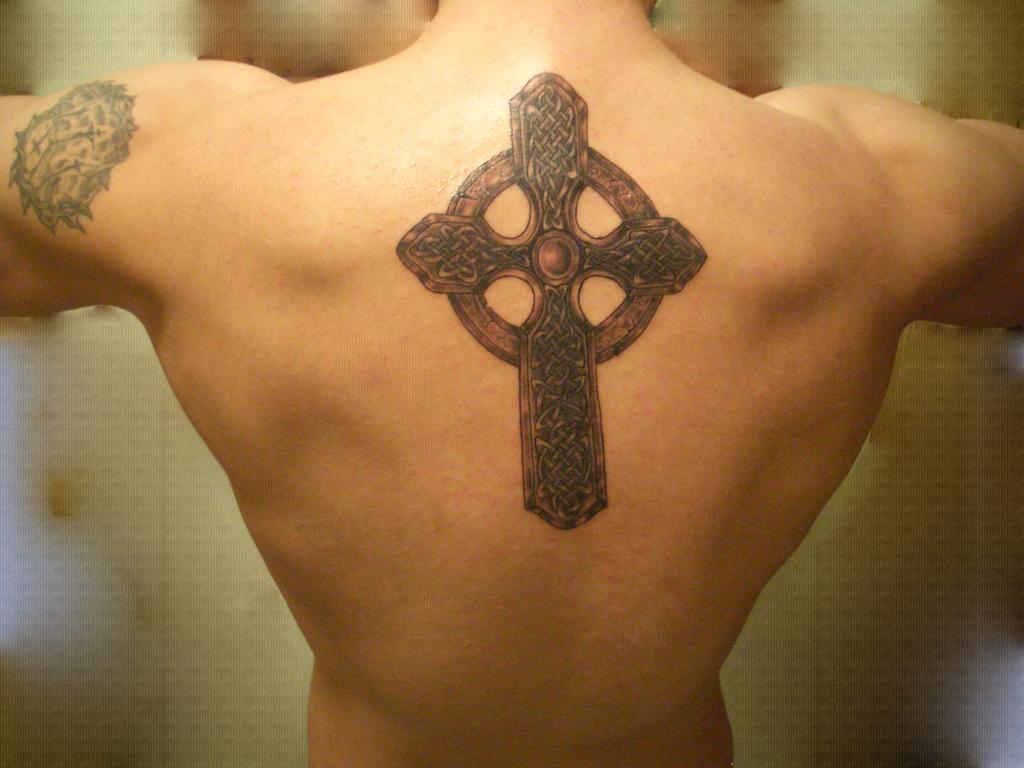 Cross tattoos page 51 for Big cross tattoos