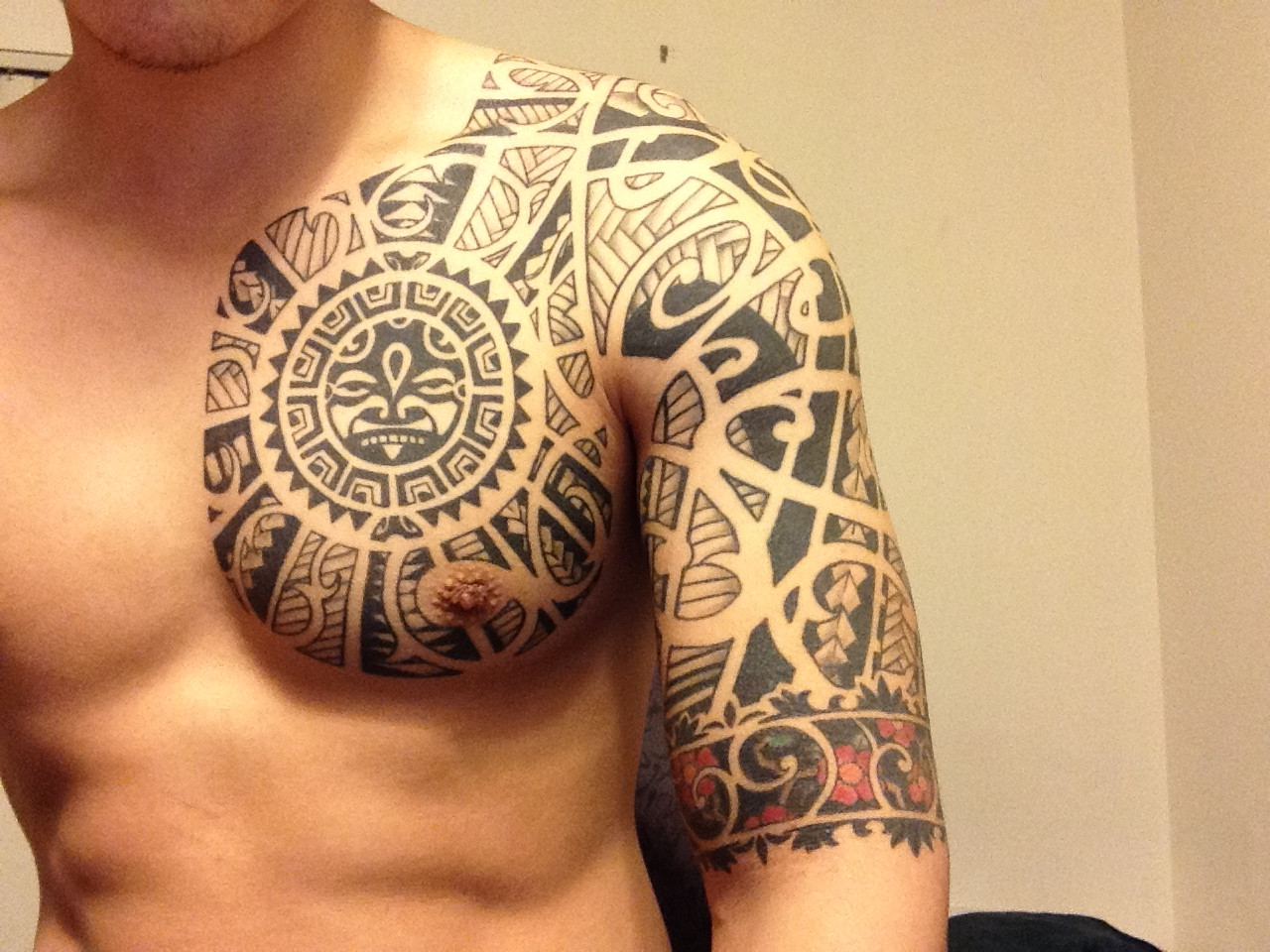 Chest tattoo images designs for What is the best black ink for tattooing